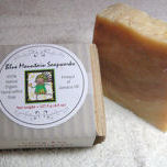 Catherine's Peak Mountain Air Half-Size Guest Soap