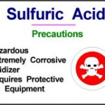 Sulfuric Acid Warning